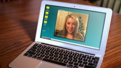 Video Chatting 2380 Stock Footage
