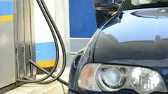 Worker at gas station; Full HD Photo JPEG Stock Footage