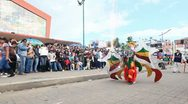 Stock Video Footage of Diabladas de Pillaro part18
