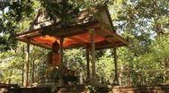 Shrine around Angkor Wat Stock Footage