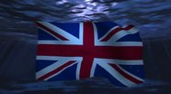 UK underwater background for negative image footage Stock Footage