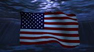 USA underwater background for negative image footage Stock Footage