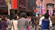 Stock Video Footage of Crowd Tokyo SlowMotion 60fps 05