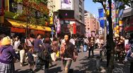Stock Video Footage of Crowd Tokyo SlowMotion 60fps 07