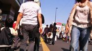 Stock Video Footage of Crowd Tokyo SlowMotion 120fps 01