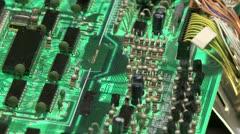 Electronics 02 - stock footage