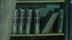 Ancient library of the - stock footage