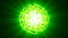 Nuclear Energy 02 heavy reaction Stock Footage