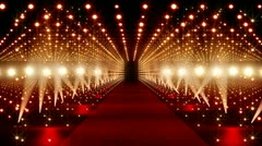On The Red Carpet 10 Stock Footage