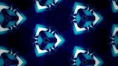Stock Video Footage of TRON Style - Kaleidoscop - Add