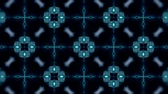 Stock Video Footage of TRON Style - Kaleidoscop - Square - 2