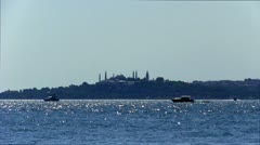 Stock Video Footage of Istanbul Bosphorus