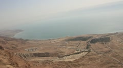 Israeli Rift Valley-Jordan Valley and Dead Sea Stock Footage