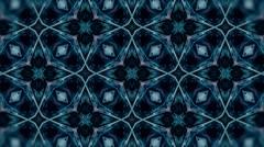 TRON Style - Kaleidoscop - Square Rotate Stock Footage