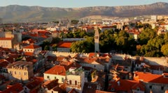Split, Croatia Stock Footage