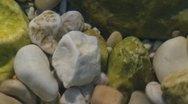 Stony shore Stock Footage