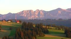Tatras, Giewont Stock Footage