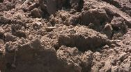 Stock Video Footage of Soil, close up