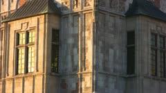 Town Hall Tower, Krakow, Poland Stock Footage
