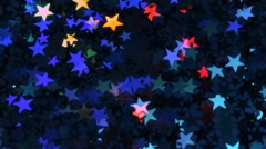 Glowing, shiny stars Stock Footage