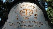 Jewish Cemetery Stock Footage