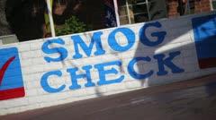 Smog Check 03 HD Stock Footage