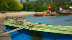 Fisher boat. Stock Footage