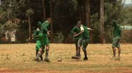 Stock Video Footage of Kids playing football, Nairobi - Kenya