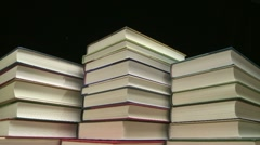Books time lapse Stock Footage