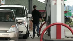 Gas Station - stock footage