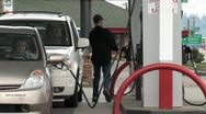 Stock Video Footage of Gas Station
