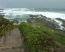 Stormy Ocean near Port Elizabeth, South Africa GFSD Stock Footage