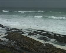 Dramatic and Stormy Ocean in the Eastern Cape GFSD Stock Footage