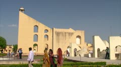 Jantar Mantar Stock Footage