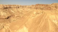 Israeli Jordan Valley Aerial  Stock Footage