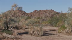 Desert Wash 3 Stock Footage