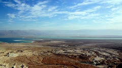 Stock Video Footage of Dead Sea pan 2