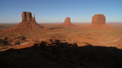 monument valley mittens 02 HD - stock footage