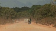 Stock Video Footage of Road, Mozambique