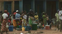 Village, Mozambique Stock Footage