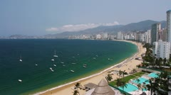 Sunny Day Acapulco Bay (HD) Stock Footage