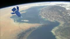 Strait of Hormuz (25P) Stock Footage