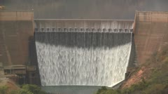 Huge Dam 8 Stock Footage