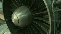 Jet Engine aircraft Stock Footage