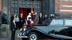 Queen Margrethe 40-year reign in Denmark, Stock Footage