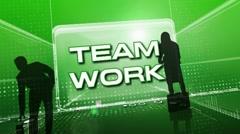 Teamwork Green Stock Footage