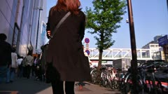 Crowd Tokyo SlowMotion 60fps 16 - stock footage