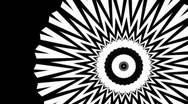 Stock Video Footage of Fractal Kaleidoscope spinning - loop/luma matte