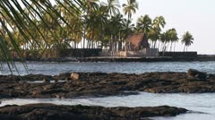 Stock Video Footage of Pu'uhonua o Honaunau - City of Refuge