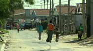Stock Video Footage of township south africa